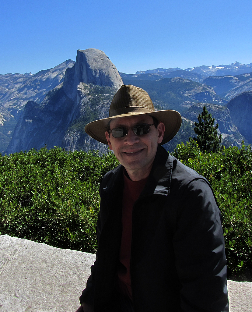 marty in Yosemite
